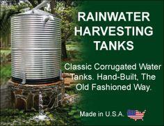 Rain Water Harvesting Tanks