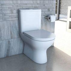 Fairbanks Close Coupled Toilet inc Luxury Soft Close Seat