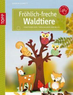 Fröhlich-freche Waldtiere | TOPP Bastelbücher online kaufen