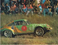 Porsche 911 Rally...lift off