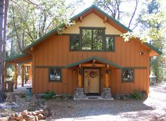 Cabin and House Plans by David Wright – 2