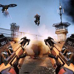 CoD Advanced Warfare est le plus gros lancement de l'année Marine Gear, Space Marine, Call Of Duty Aw, Advanced Warfare, Future Weapons, Black Ops 3, Fantasy Weapons, Video Game Console, Game Design