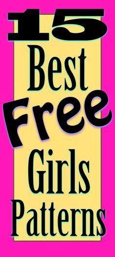Best Free Girls Sewing Patterns Online   SewsNBows