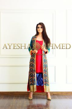 7 Ayesha Ahmed formal wear collection 2015 For Girls (1)