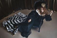 Gong Hyo Jin, Queen of Romcoms High Cut Korea, Jin Photo, Gong Hyo Jin, Korean Star, Korean Actresses, Girls Out, Fashion Photography, Fur Coat, Goth