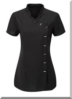 Hairdressing-Beauty-SPA-Nail-Salon-Therapist-Massage-Tunic-Uniform