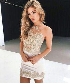 Princess Homecoming Dresses, Light Blue Prom Dresses, Short Prom Dresses With Pleated Sleeveless Mini White Homecoming Dresses Short, Prom Dresses 2018, Backless Prom Dresses, Sexy Dresses, Cute Dresses, Formal Dresses, Short Prom, Party Dresses, Short Tight Prom Dresses