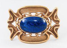 Art Nouveau Brooch image 2