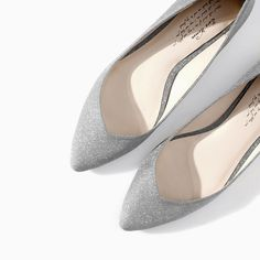 BALLERINA FLATS WITH CRYSTALS - Shoes - WOMAN - SALE | ZARA Taiwan