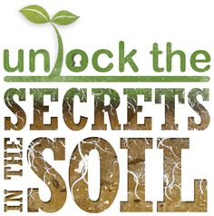 Dr. Dena Marshall chats about soil health & how to achieve it on #groundchat this Fri, May 9, 2014 at 2 pm EST. Join us!