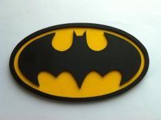 Batman logo de madera