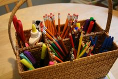 Echoes of Laughter: Back To School Organizing Part 2: Sorting Out School Supplies & Study Spaces...