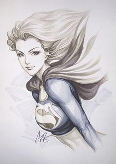 Super Girl Original1 by `Artgerm on deviantART(next Halloween costum.)