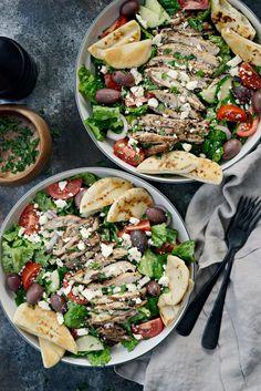 Fattoush Salad l SimplyScratch.com