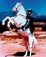 The Lone Rangers Horse; Silver. What an awesome horse!  Silver was given the Award for Excellence in 1957. This award is for animals who are outstanding in the television and motion picture industry.