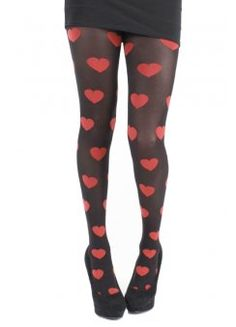 Red Heart Tights