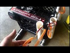 Kayak Fishing Milk crate DIY