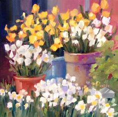 """Daily+Paintworks+-+""""Jury+Selection""""+-+Original+Fine+Art+for+Sale+-+©+Libby+Anderson"""