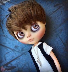 RESERVADO para F. - Incubus - Custom Blythe Doll - #84