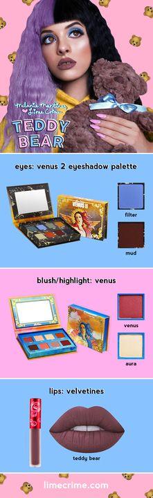 Get Melanie's look with Venus, Venus 2, + 'Teddy Bear' - Click to shop! Xo