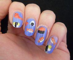 Squeaky Nails: Sushi Nails http://www.squeakynails.com/2014/05/sushi-nails.html #nailart
