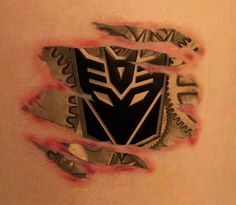 autobot honda design tattoo   Created a concept design of my Decepticon tattoo in Photoshop. What do ...