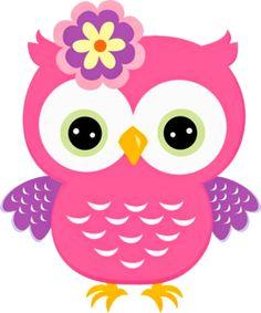 minus say hello b hos pinterest owl clip art and digital rh pinterest com pink owl clip art free pink and purple owl clip art