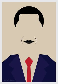 Illustration by Ali Alsumayin. Perfectly recognizable though simple. Genius.