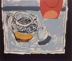 "Rosemary Vanns - ""Spotted Jug"", Screenprint Image Size 33.5cm x 29cm, Edition edition of 13 More"