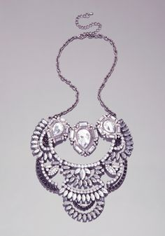 bebe | Stone Layered Necklace - Jewelry - Necklaces