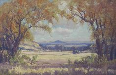 Landscape near Brandfort - JH Pierneef South Africa Art, African Paintings, South African Artists, Contemporary, Modern, Landscape Paintings, Masters, Composition, Passion