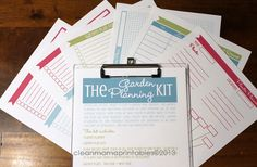 The Garden Planning Kit. Love this!