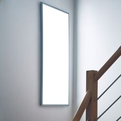Ultraslim LED Panel Professional,360 Nichia LEDs, 120 x 45cm Rahmen: silber, Licht: warmweiß