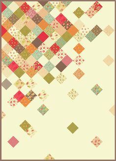 Some great charm quilt ideas...