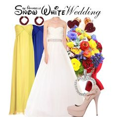 Snow white - Wedding by annabelle-95 on Polyvore featuring True Decadence, Reem Acra, Michael Kors, NEXTE Jewelry and Ciner