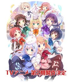 La segunda temporada de Gochuumon wa Usagi Desu ka? se estrenará en Octubre.