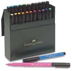 Faber-Castell Pitt Artist Pens Gift Box, Set of 24