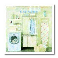 Blue And Yellow Living Room, Heat Transfer, Laundry Room, Iron, Amazon, Amazons, Riding Habit, Laundry Rooms, Laundry