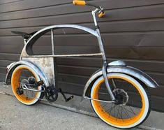 Custom VW Bug Bike - Volkswagon Bicycle - Clyde James Cycles - www.ratrodbikes.com