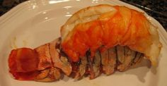 Baked Lobster Tails  Five-Course Dinner - Menu and Recipes