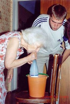 Oh silly Grandma!