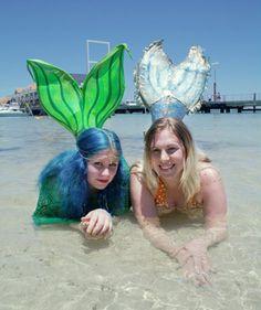 Real Life Mermaids, Mermaid Mermaid, Perth, Amelia, Her Hair, Summer Time, Waves, Magazine, Daylight Savings Time