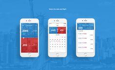 American Airlines app design on Behance Fly App, Tablet Ui, Ui Inspiration, Ui Ux Design, Mobile Design, Challenges, American, Minimal, Salt