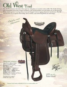 Tucker Saddles - Trail saddles and Bridle Supplies.
