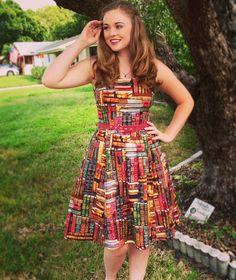 Archive Got the Power Dress   Mod Retro Vintage Dresses   ModCloth.com
