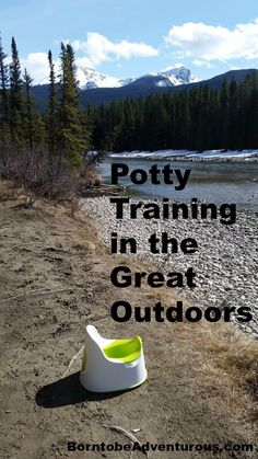 Potty Training in the outdoors with some tips!