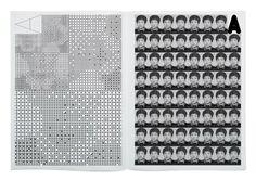 Jin Dallae & Park Woohyuk / Archiv Peace Newspaper vol 10 / 2015 Book Design, Layout Design, Print Design, Editorial Layout, Editorial Design, Code Art, Geometric Type, Typo Logo, Information Design