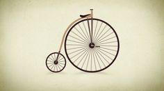 Evolución de la bici: más de 200 años de historia, desde el Celerifere (caballo de madera) a la modernidad #bike #historia #bicicleta  Animation :...