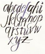 Anne Elser calligraphy