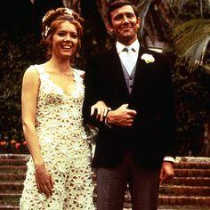 James Bond's wedding photo... from On Her Majesty's Secret Service